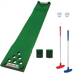 powerful Original Putter Ball Beer Pong Golf Set-Two Golf Clubs, Two Golf Balls, …