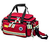 Elite Bags EMS Extreme'S Emergency Bag | Basic Life Support (Red) | First Responder | EMT Bag | First Aid Kit