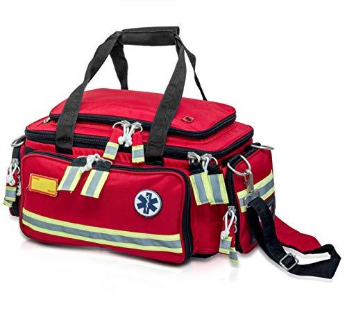Bolsa emergencias Soporte Vital básico,1000D Polyester Rojo - Extrem´S ⭐