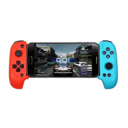 SPFSYF Saitake Telescopic GamePads Joystick Wireless Gamepad Bluetooth Compatible con el Controlador de Juegos para Huawei Xiaomi iPhone Android TV (Color : 02)