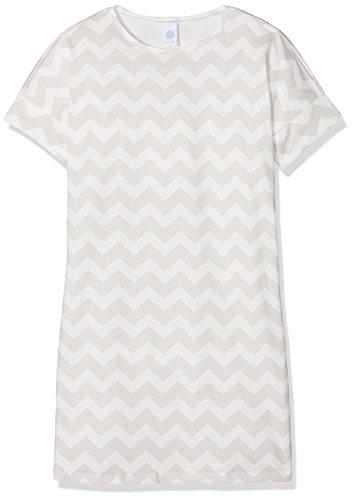 Sanetta Mädchen 244090 Nachthemd, Beige (Broken White 1427), 128