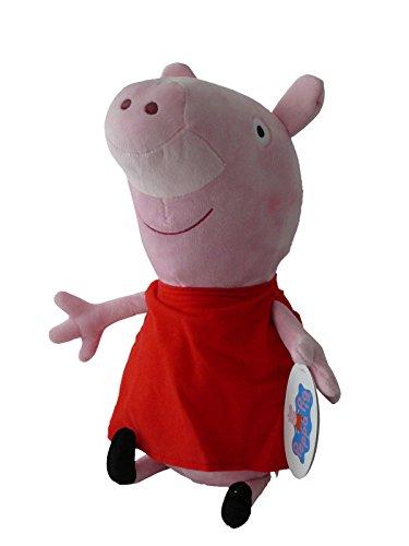 Peppa Pig - Peppa vestito rosso classico 20cm - Buona qualità - Peluche - Ouast