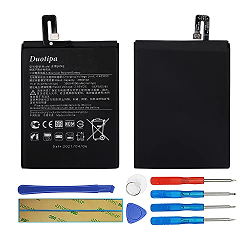 Duotipa Batería de repuesto BM4E compatible con Xiaomi...