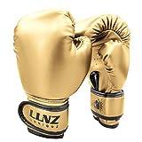 Luniuqz Guantes de Boxeo para Niños de 3-14 Años, Guante de Entrenamiento 4oz 6oz para MMA, Muay...
