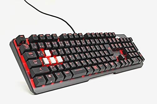 MSI Vigor GK60 CR JP 赤軸 ゲーミングキーボード KB461