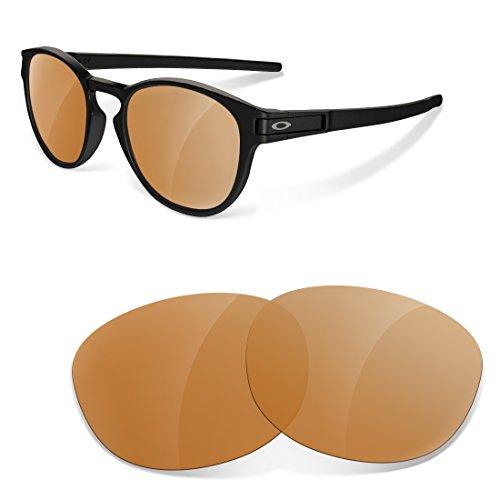 sunglasses restorer Ersatzgläser Kompatibel für Oakley Latch, Polarisierte Braun