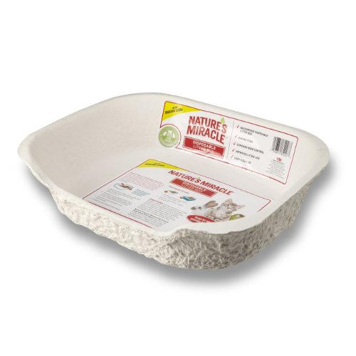Nature's Miracle Disposable Litter Box, Small Animal, 1-Pack