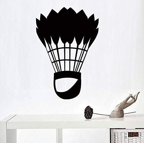 Wandtattoo Classic Badminton 43X63Cm Wandtatoo Wandsticker Wandaufkleber Wanddekoration Für Entfernbare Wohnzimmer Schlafzimmer Flur