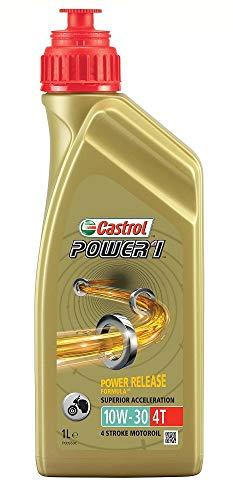 Castrol POWER 1 4T 10W-30 Four Stroke Motorcycle Engine Oil 1L
