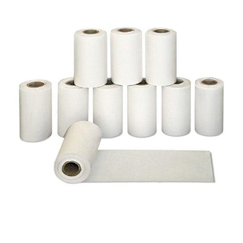 50 x EC Kassenrollen ohne BPA 57mm x 10m x 12mm | Ø32mm | EC Rollen 57x10x12 | Bonrollen phenolfrei| HUTNER