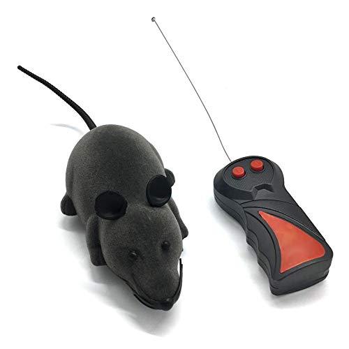 Demiawaking Katzenspielzeug Wireless RC-Mäuse Katzen Spielzeug Fernbedienung Falsche Maus Spielzeug