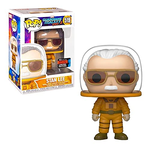 Funko POP! Marvel: Guardianes de la Galaxia: Stan Lee Exclusivo