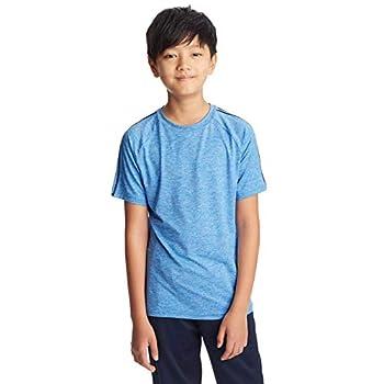 C9 Champion Boys  Fashion Tech Short Sleeve T Shirt Awesome Blue Heather L