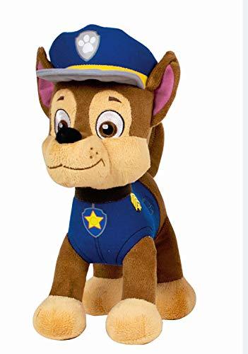 POS 31830 - Paw Patrol Plüschfigur Chase, Weichpuppe ca. 19 cm groß, schon für Kleinkinder geeignet, wunderbar weich, Puppe zum Kuscheln und Liebhaben, ideal als Geschenk