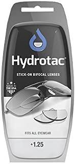 Optx 20/20 Hydrotac Stick-On Bifocal Lenses (+1.25) by Hydrotac Stick-On Bifocal Lenses