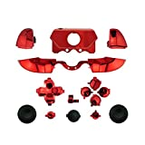 WPS Chrome ABXY Dpad Triggers Full Buttons Set Mod Kits for 1697 1698 Xbox One...