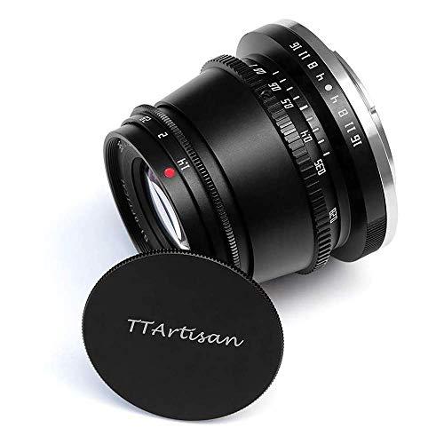 TTArtisan 35mm F1.4 Objektiv APS-C MF Kameraobjektiv kompatibel mit NZ Mount Kameras ZFC Z50 Z5 Z6 Z6II Z7 Z7II Z9. (NZ Mount Black)