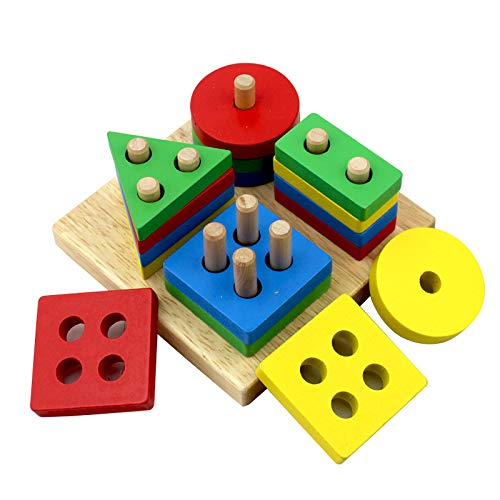 Wooden Educational Preschool Tod...