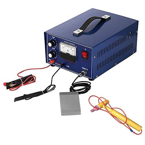 220 V Máquina soldadora de chispas soldadora electrónica de puntos Máquina soldadora de bridas 90W 50A Máquina de soldadura por puntos mini Soldadora de chispas