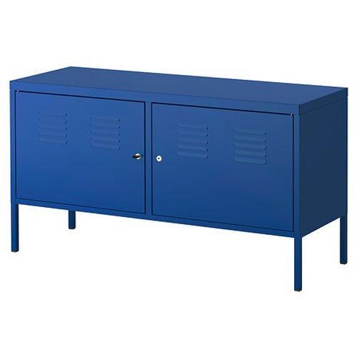 Ikea Blue Cabinet Tv Stand Multi-use Lockable