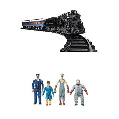 Lionel Polar Express Ready to Play Train Set with Lionel The Polar Express Original People Pack