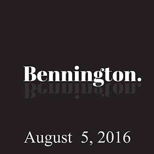Bennington, John Waters, August 5, 2016 cover art