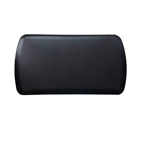 Amcomfy Anti Fatigue Kitchen Mats Comfort Floor Mat Standing Desk Mat (22 x 36 x 7/8 Inch, Black)