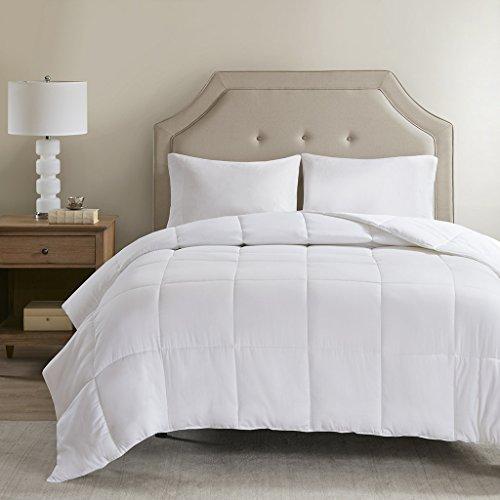 SLEEP PHILOSOPHY Cotton 300TC Cover TencelFilled Down Alternative Comforter Antimicrobial BI-OME Odor Eliminator White King