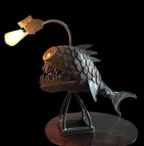 DYJXIGO Lámpara de pescado, lámpara de pescado, pescador de pescado, lámparas de pescado
