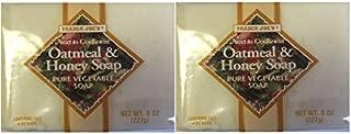 Trader Joe's Oatmeal & Honey Soap Pure Vegetable Soap 2 pack = 4 bars total