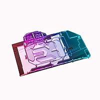 Bykski GPU銅RBW LED水冷ブロックFor Asus ROS STRIX RTX3070 RTX3060Ti GAMING (5V LED GPU Block)