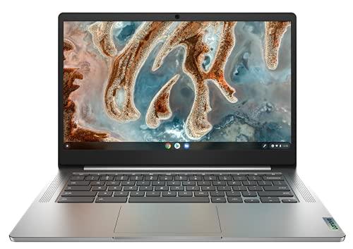 Lenovo IdeaPad 3 Chromebook Gen 6 - Portátil 14' FullHD (MediaTek MT8183, 4GB RAM, 32GB eMMC, Arm Mali-G72 MP3 GPU, Chrome OS) Color Gris - Teclado QWERTY Español