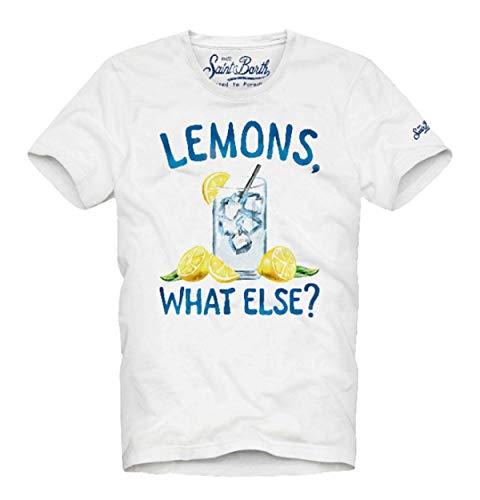 MC2 Saint Barth Herren T-Shirt Lemons 01 - M