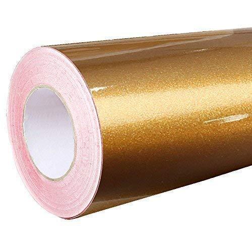 4,75€/m² Rapid Teck® Glanz Folie - 092 Kupfer - Klebefolie - 5m x 63cm - Plotterfolie- Folie selbstklebend - auch als Moebelfolie - Klebefolie