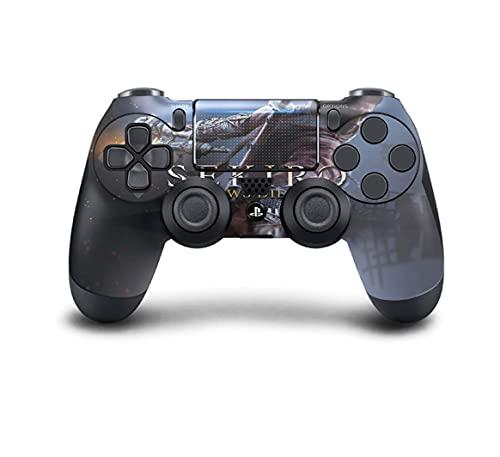 PS4 DualShock Manette sans Fil Pro Console – Manette PlayStation4 avec Prise en Main Douce et Skin Exclusive Version personnalisée (PS4-Sekiro)