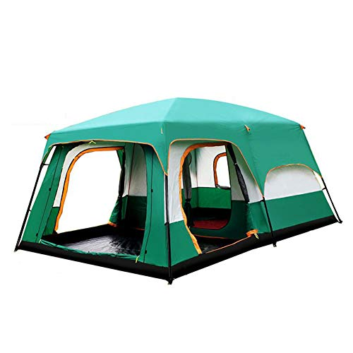 Dall Tiendas de campaña Casa De Campaña Impermeable Camping 2-8 Persona Familia Tienda De Túnel 2 Habitaciones