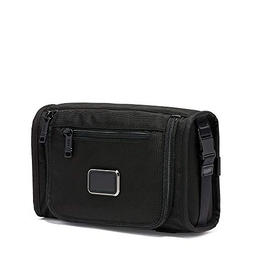 TUMI - Alpha 3 Travel Kit - Luggage Accessories Toiletry Bag for Men and Women - Black