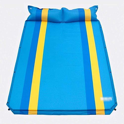 WCY Aufblasbarer Bett-Luft-Bett-Luft-Bett Doppelbett Luftmatratze Schlaf Camping Luftmatratze Automatische Luftmatratze Auto-Luft-Bett Blow up Bett yqaae