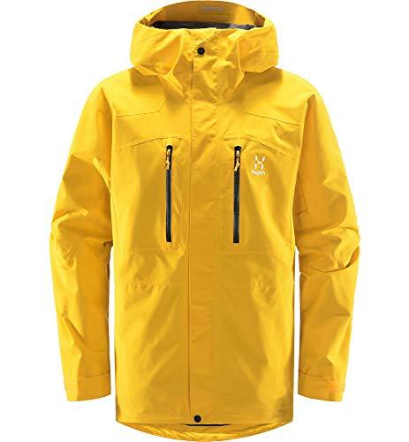 Haglöfs Elation GTX, Giacche Uomo, Giallo (Pumpkin Yellow), XL