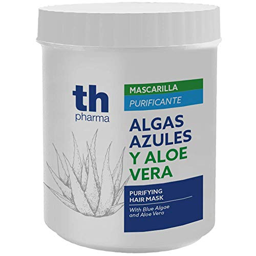 Thader Th Pharma Mascarilla Purificante Algas Azules y Aloe Vera, 700 Mililitros