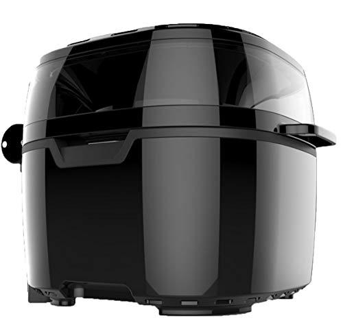 NANXCYR Air Fryer Snel en gezond braden hete grill vetarme oliekoker ovenvoering, 10 liter, 1200 W, zwart