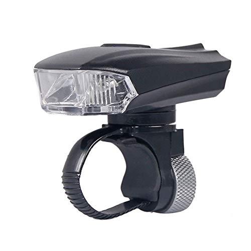 Mercery USB Wiederaufladbare Wasserdichte LED Fahrradbeleuchtung Fahrrad Front Taschenlampe Lampe Suchscheinwerfer 5 Modi Zyklus Scheinwerfer Intelligentes Dimmen Warnung Blinkende Beleuchtung Scheinw