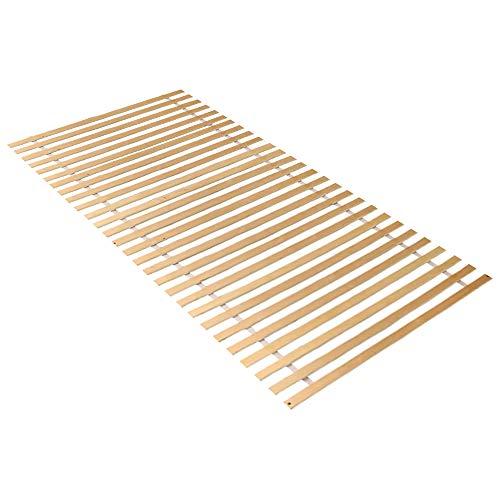 Hengda Rollrost (28) Rolllattenrost Federleisten bettgestell Lattenrost Bettrost Rollrost Holzlatten Latten 90x200cm