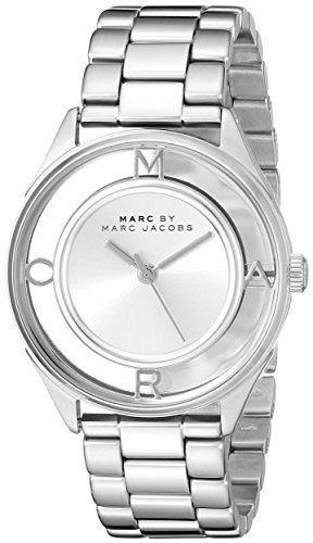 Marc by Marc Jacobs Damen Analog Quarz Uhr mit Edelstahl Armband MBM3412