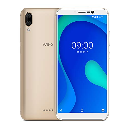 Wiko Y80 Italia Smartphone, Android 9 Pie, Display 5.99 inch, Memoria RAM 2GB, Memoria ROM 16 GB,...