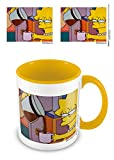 The Simpsons MGC25534 Taza, cermica, Blanco