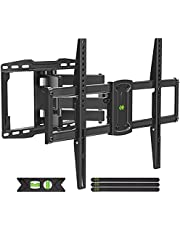 """USX MOUNT TV Wall Mount, Full Motion TV Mount for Most 37-75 inch TVs, TV Bracket Dual Swivel Articulating Arms Extension Tilt Rotation, Max VESA 600x400mm, 16"""" Wood Stud, Holds up to 132lbs"""
