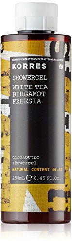 Korres White Tea / Bergamot / Freesia Duschgel,1er Pack (1 x 250 ml)