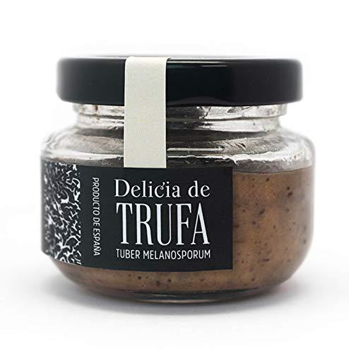 Manjares de la Tierra - Delikatesse - Pastete mit Steinpilzen, Zwiebeln und schwarzer Wintertrüffel (Tuber melanosporum) aus Teruel. Sarrión, der weltweiten Trüffelhauptstadt - 50 g.