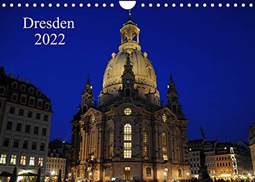 Dresden 2022 (Wandkalender 2022 DIN A4 quer)